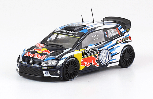 collezione rally monte carlo Volkswagen Polo R WRC 2016 S. Ogier - J. Ingrassia