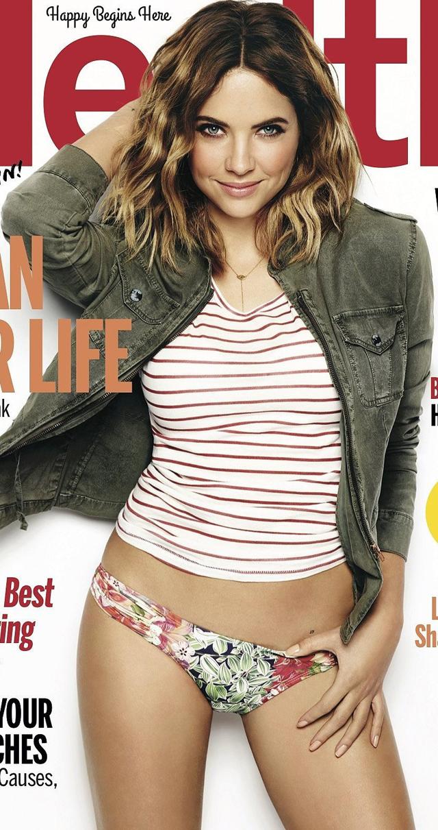 Ashley Benson en Health magazine