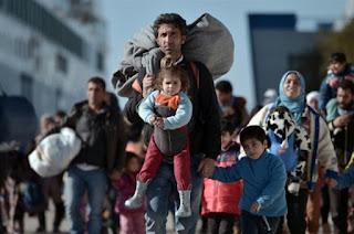 migrants arrivés en Grèce