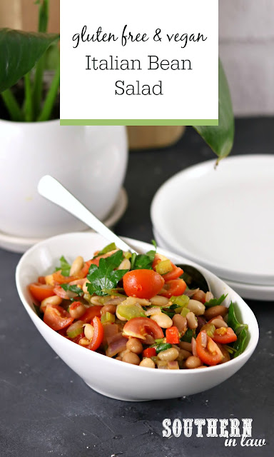 Easy Italian Bean Salad Recipe