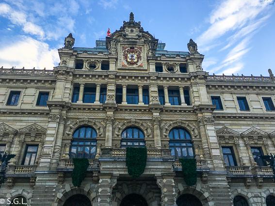 Edificio de la Diputacion en Bilbao