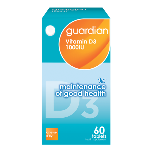 guardian Vitamin D3 1000IU