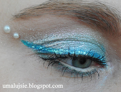 Makijaż SYRENA/mermaid make up: Avon, Pierre Rene i in.