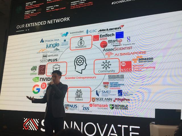 Presentation by SG INNOVATE