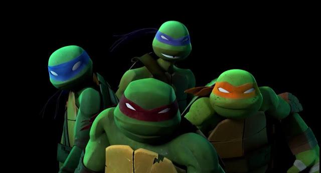 cartoon ninja turtles wallpaper