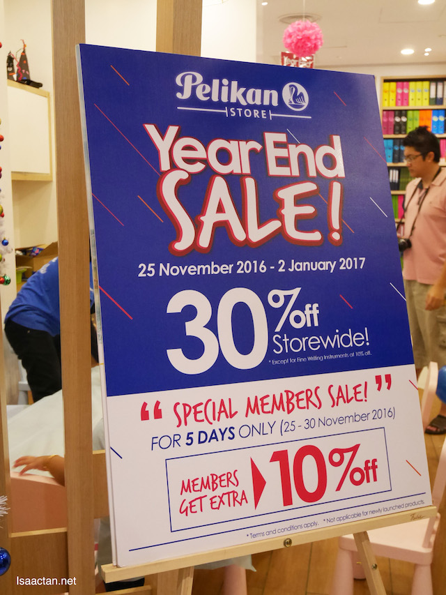 Pelikan Store's Year End Sale is ON!