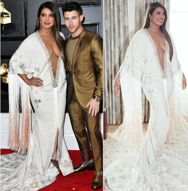 Priyanka Chopra in Ralph and Russo