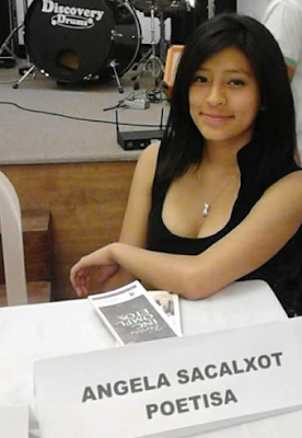 Escritora Angela Eunice Sacalxot