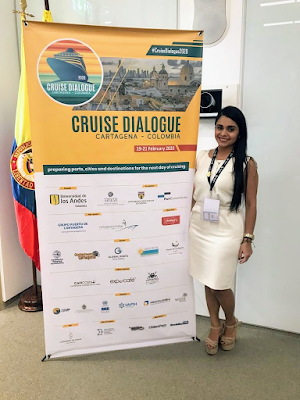 Uniguajira hizo presencia en el Cruise Dialogue 2020