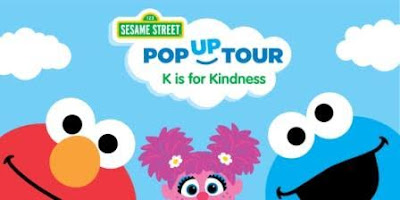 Sesame Street: K is for Kindness Tour is coming to town!