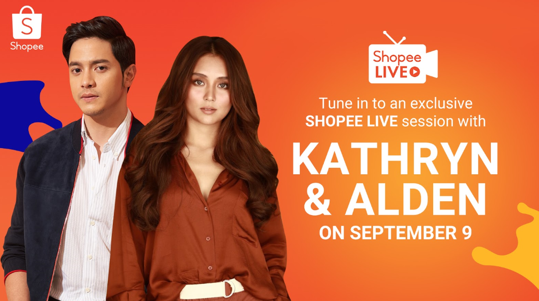 Shopee reunites Kathryn Bernardo, Alden Richards to celebrate 9.9 Super Shopping Day