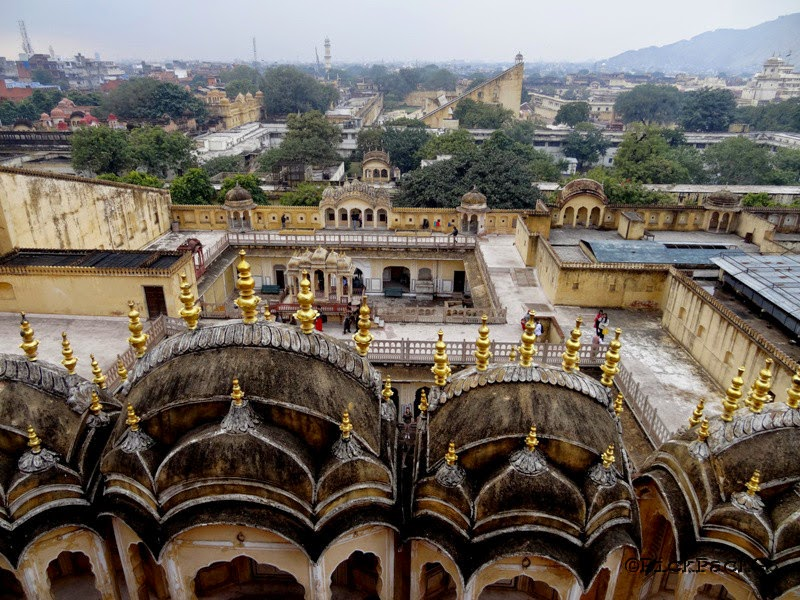 Palace of Winds  - Hawa Mahal - Jaipur Pink City - Rajasthan