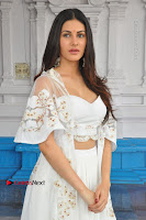 Telugu Actress Amyra Dastur Stills in White Skirt and Blouse at Anandi Indira Production LLP Production no 1 Opening  0112.JPG