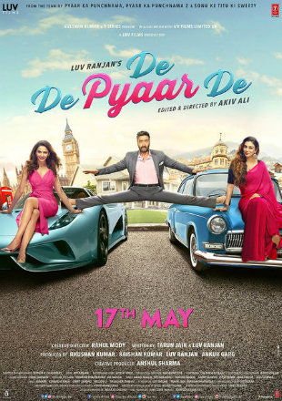 De De Pyaar De 2019 Full Hindi Movie Download HDRip 1080p
