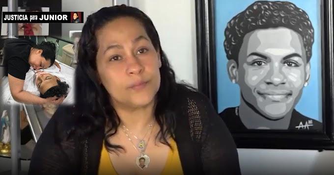 A dos años del asesinato de Junior madre sigue lucha por  justicia contra pandilleros