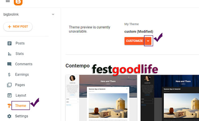 Remove Footer Credit copyright from  Blogger template without redirection