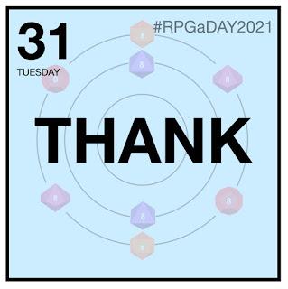 RPGaDAY2021 Day 31