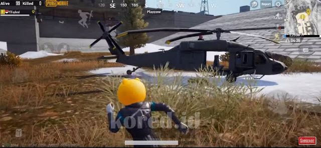 Lokasi Helikopter Map Vikendi
