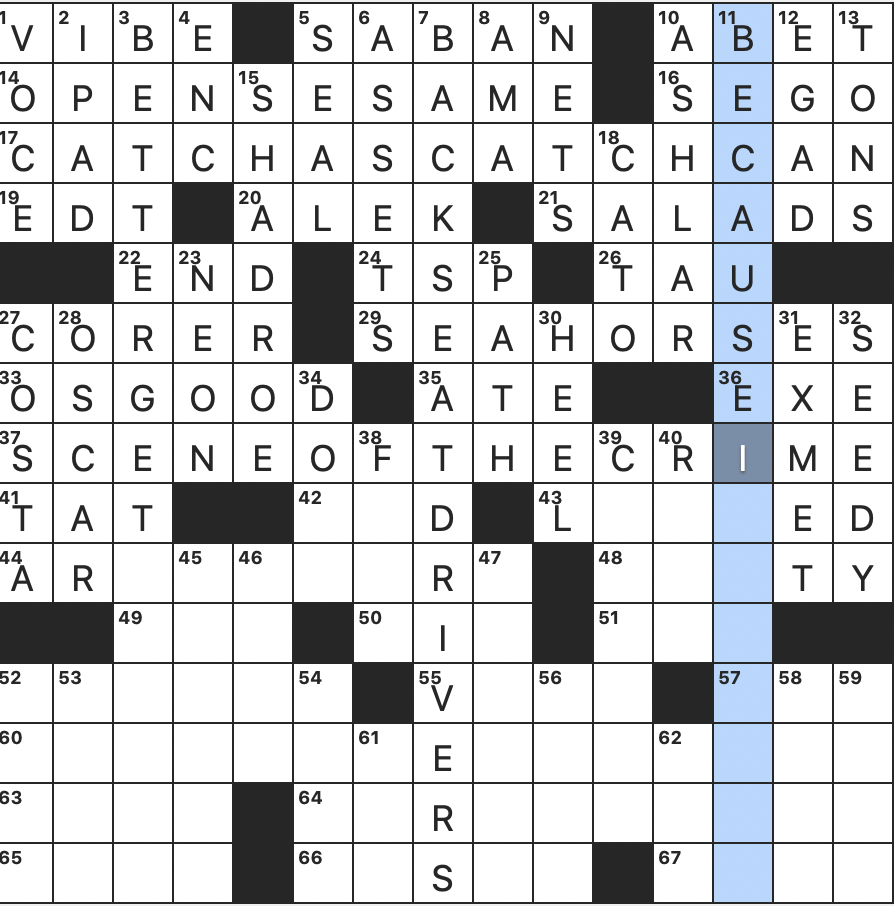 Rex Parker Does The Nyt Crossword Puzzle Longtime Cbs News Host Charles Fri 12 18 20 Target Of 1972 Ban Stereotypical Cry From A Sailor Mike Piazza Beginning In 2006