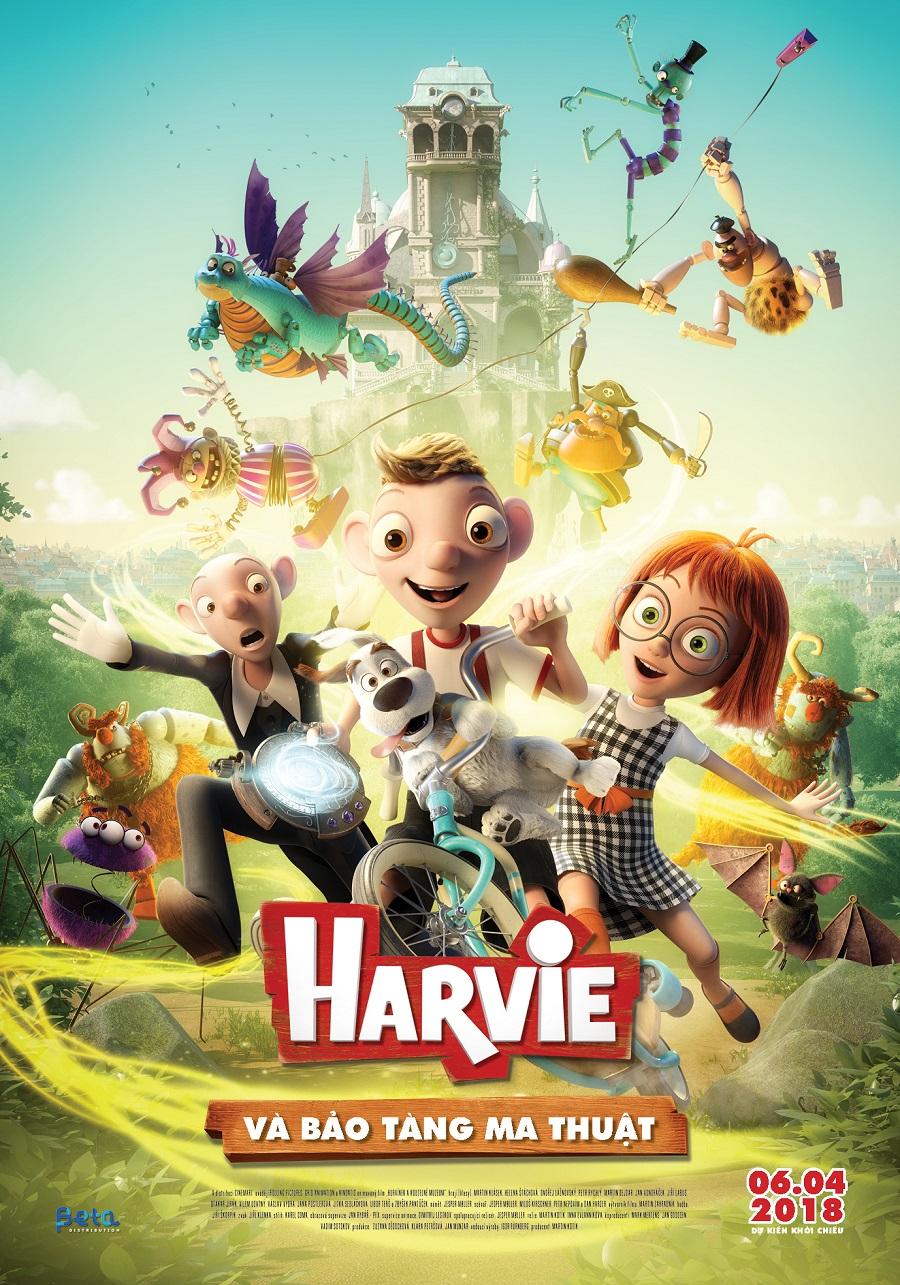 Xem Phim Harvie và Bảo Tàng Ma Thuật - Harvie and the Magic Museum