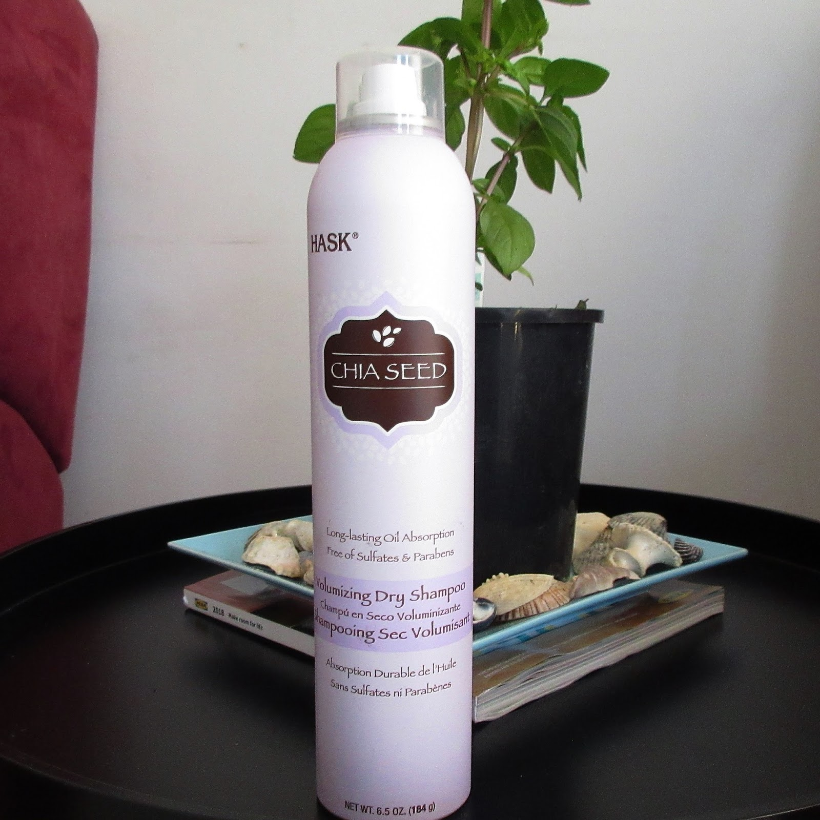 Hask Chia Seed Volumizing Dry Shampoo Review