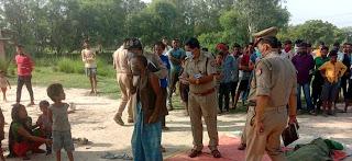 #JaunpurLive : पेड़ के नीचे फेंकी गई मासूम की लाश बरामद