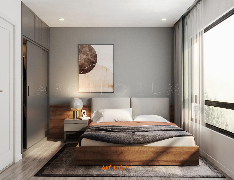 Thiết kế nội thất căn 3 phòng ngủ Vinhomes Ocean Park