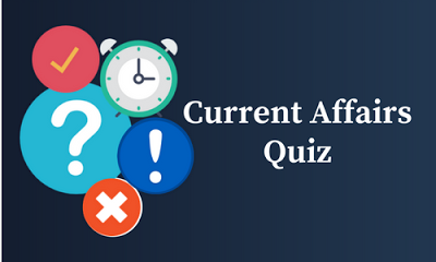 Current Affairs Quiz: 16 January 2018
