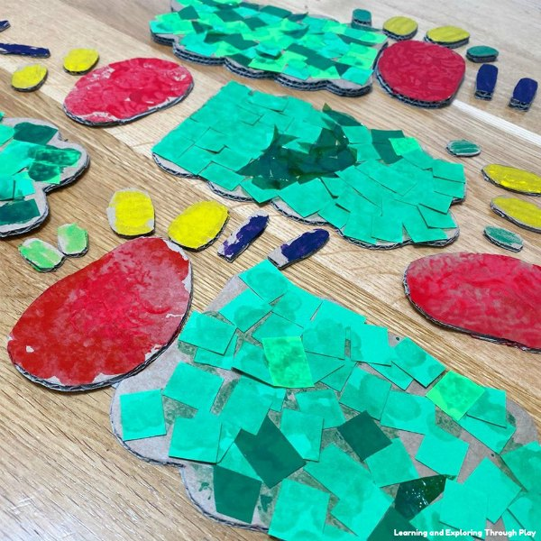 The Very Hungry Caterpillar Craft - Early Years Ideas