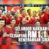 Selangor Naikkan Insentif Kemenangan RM1.1 Juta.