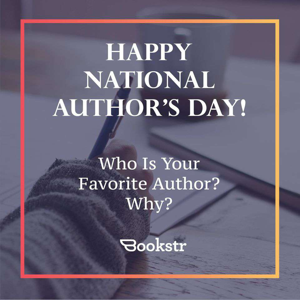 National Author's Day Wishes Sweet Images