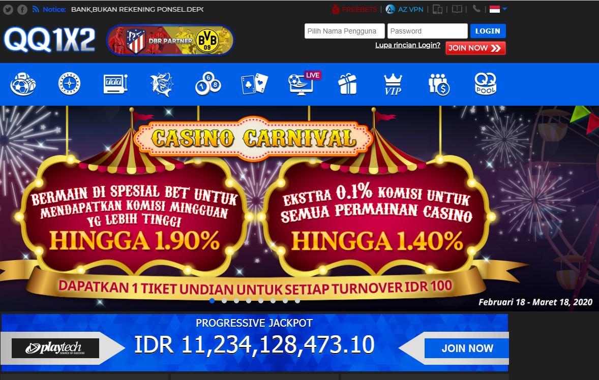 Bandar Taruhan Online Terbaik Indonesia Qq1x2 Situs Judi Online Dan Bandar Slot Online Terpercaya Indonesia