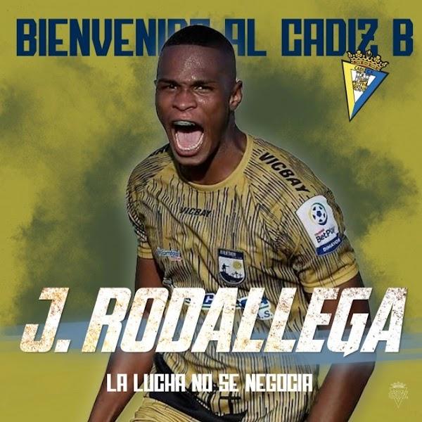 Oficial: Cádiz B, firma cedido Johan Rodallega