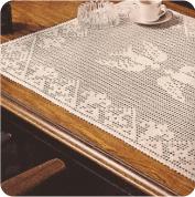 "Tapete ""Las Golondrinas"" a Crochet"