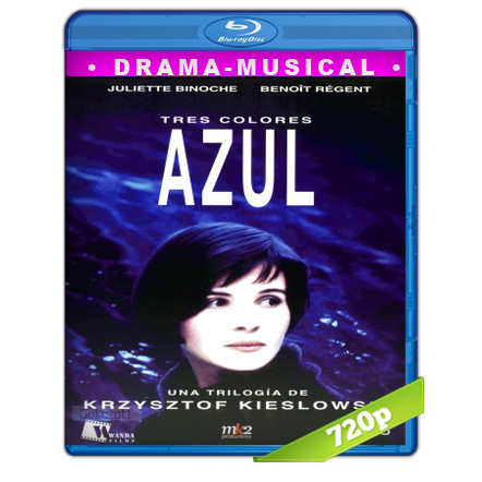 Tres Colores Azul (1993) BRRip 720p Audio Dual Castellano-Frances 2.0