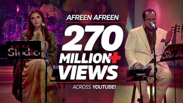 afreen afreen lyrics - Rahat Fateh Ali Khan