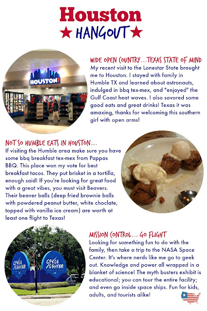 Food and fun in Houston Texas