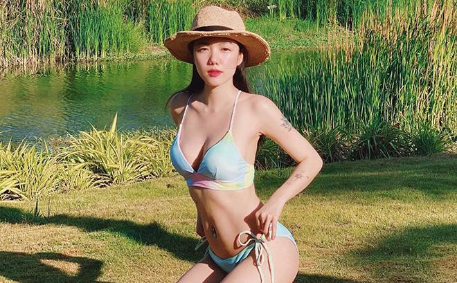 Phương Ly tung ảnh bikini gợi cảm