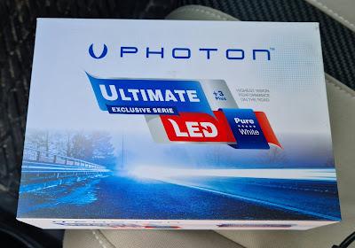Photon H11 LED Xenon (Zenon) Beyaz Far 9500 Lumens UL2329-H11