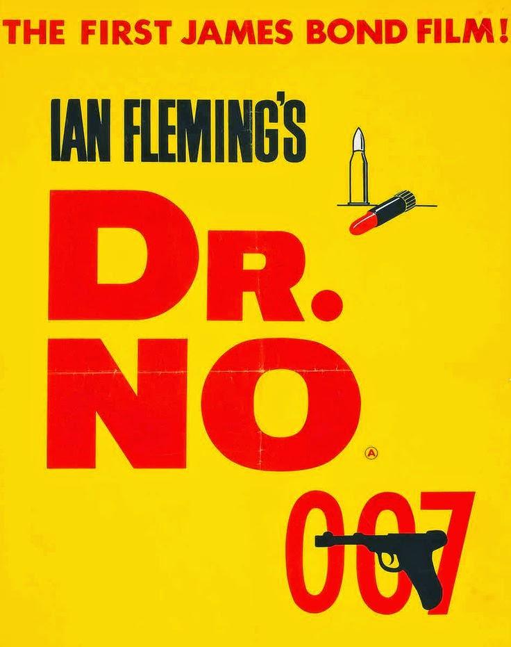 Teaser Poster James Bond 007 jagt Dr. No