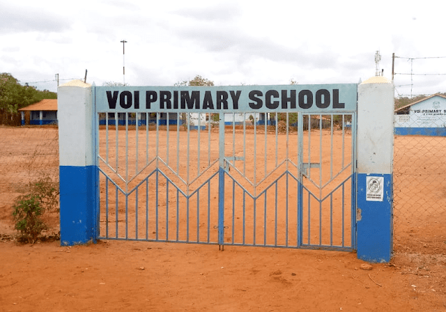 Voi Primary School in Taita Taveta County
