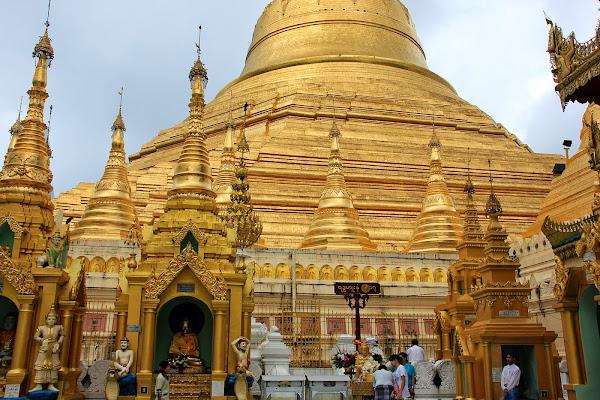 Pagoda Shwedagon en Birmania