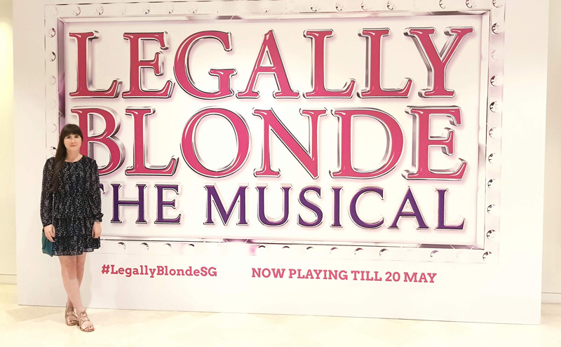 Legally Blonde Mastercard Theatre Singapore