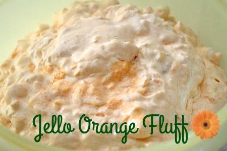 Sunny Simple Life Mandarin Orange Jello Fluff Salad