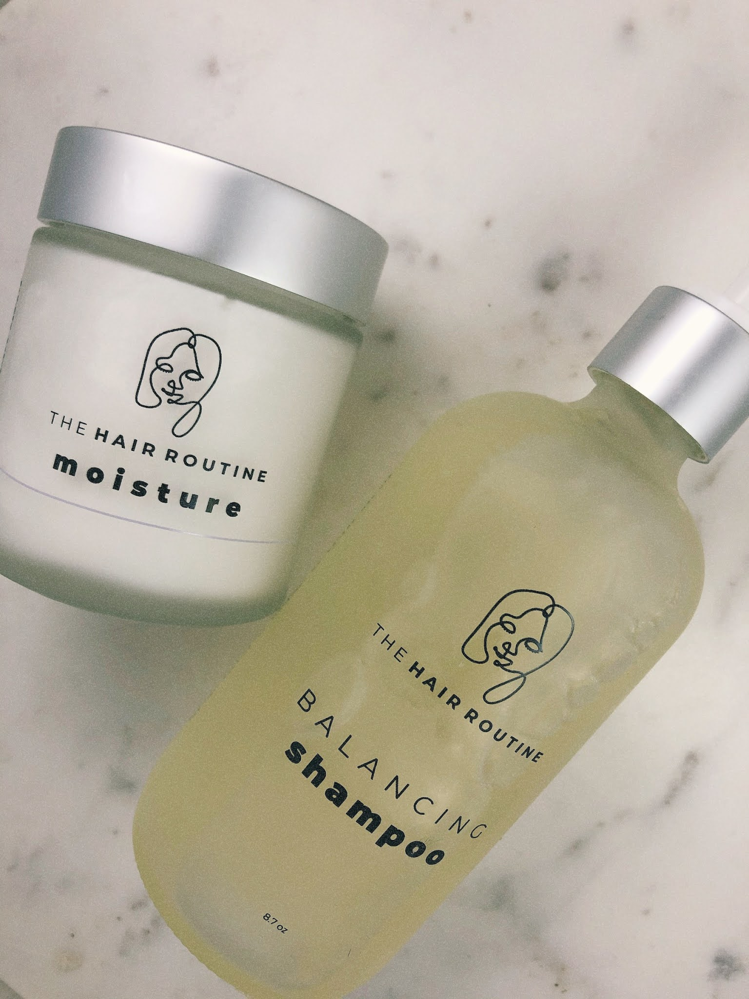 The Hair Routine Balancing Shampoo and Conditioner: A quick review