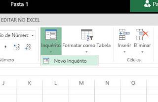 Como fazer um inquérito (Pesquisa) no Excel Online