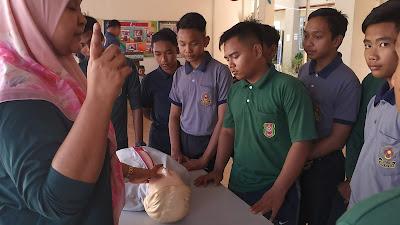 Prosedur Jemput Klinik Kesihatan Untuk Resusitasi Kardiopulmonari CPR dan Heimlich Manoeuvre