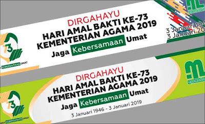 Spanduk HAB Kemenag 2019