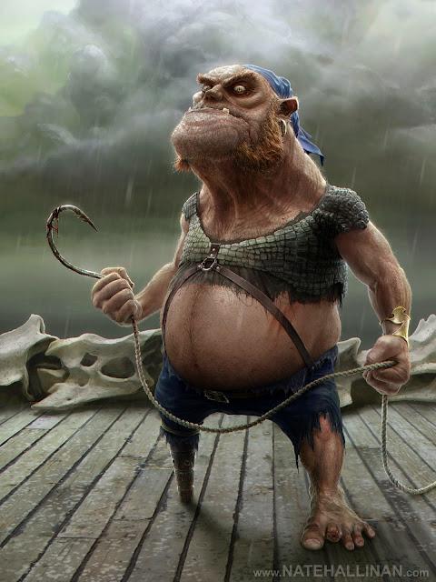 Diseños de personajes 3D por Nate Hallinan