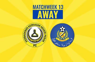 Live Streaming PKNP FC vs Pahang Liga Super 2.6.2018